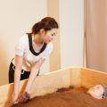 米ぬか酵素浴ヌッカはケイマナヨガスタジオに併設の酵素風呂